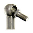 Stainless steel 13mm ball joint - 13 mm stud with M8x1.25 thread and13 mm cup with M10x1.5 thread